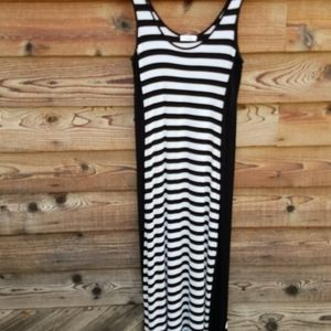 Calvin Klein long maxi  cotton knit sundress m